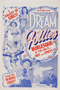 Memorabilia:Poster, Dream Follies Movie Poster (Tab Pictures, c. 1940s)....