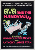 Memorabilia:Poster, Eve and the Handyman Movie Poster (Eve Productions,1961)....