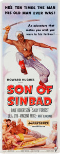 Memorabilia:Poster, Son of Sinbad Movie Poster (RKO, 1955)....