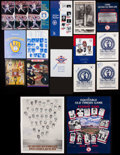 Baseball Collectibles:Publications, Baseball Stars and Hall of Famers Signed Publications Lot of 19....
