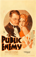 "Movie Posters:Crime, The Public Enemy (Warner Brothers, 1931). Window Card (14"" X 22"").. ..."