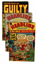 Golden Age (1938-1955):Miscellaneous, Miscellaneous Golden Age Jack Kirby Related Comics Group (Various Publishers, 1947-51) Condition: Average VG-.... (Total: 7 Comic Books)