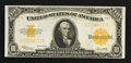 Large Size:Gold Certificates, Fr. 1173 $10 1922 Gold Certificate Very Fine-Extremely Fine.. ...