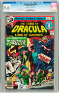 Bronze Age (1970-1979):Horror, Tomb of Dracula #46 (Marvel, 1976) CGC NM+ 9.6 Off-white to whitepages....