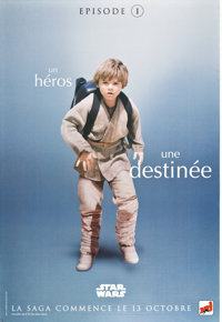 "Star Wars: Episode I - The Phantom Menace (20th Century Fox, 1999). French Grandes (9) (47"" X 63""). ... (Total..."