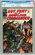 Silver Age (1956-1969):War, Sgt. Fury and His Howling Commandos #36 Twin Cities pedigree (Marvel, 1966) CGC NM/MT 9.8 White pages....