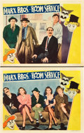 "Movie Posters:Comedy, Room Service (RKO, 1938). Lobby Cards (2) (11"" X 14"").. ... (Total:2 Items)"