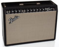 Musical Instruments:Amplifiers, PA, & Effects, 1966 Fender Deluxe Reverb Black Face Guitar Amplifier, #A90431....