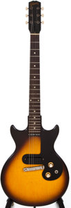 Musical Instruments:Electric Guitars, 1961 Gibson Melody Maker Sunburst Solid Body Electric Guitar,#47919....
