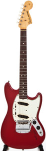 Musical Instruments:Electric Guitars, 1965 Fender Mustang Dakota Red Solid Body Electric Guitar, #112880....