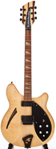 Musical Instruments:Electric Guitars, 1992 Rickenbacker 360 Mapleglo Semi-Hollow Body Electric Guitar,#J4 5215....