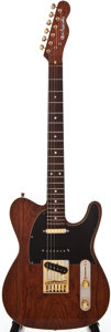 Musical Instruments:Electric Guitars, 1970s Custom Axe Handle Telecaster Copy Natural Electric Guitar...