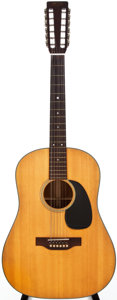 Musical Instruments:Acoustic Guitars, 1968 Martin D-12-20 Natural 12-String Acoustic Guitar, #234083....