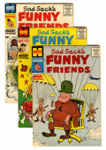 Golden Age (1938-1955):Cartoon Character, Sad Sack's Funny Friends File Copy Group (Harvey, 1955-69) Condition: Average VF+.... (Total: 73 Comic Books)