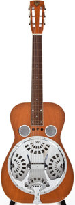 Musical Instruments:Resonator Guitars, Circa 1990 Dobro Natural Resonator Guitar, #D313195....
