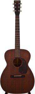 Musical Instruments:Acoustic Guitars, 1950 Martin 00-17 Natural Acoustic Guitar, #114897....