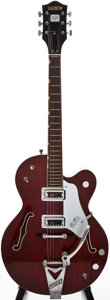 Musical Instruments:Electric Guitars, 1961 Gretsh Chet Atkins Tennessean Burgundy Archtop Electric Guitar, #10397....