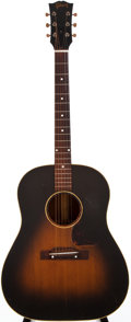 Musical Instruments:Acoustic Guitars, 1954 Gibson J-45 Sunburst Acoustic Guitar, #X4395....