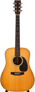 Musical Instruments:Acoustic Guitars, 1978 Martin HD-28 Natural Acoustic Guitar, #403715....