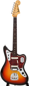 Musical Instruments:Electric Guitars, 1965 Fender Jaguar Sunburst Solid Body Electric Guitar, #L79083....