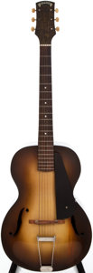 Musical Instruments:Acoustic Guitars, 1934 Epiphone Masterbilt Sunburst Acoustic Guitar, #7274....