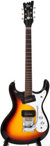 Musical Instruments:Electric Guitars, 1990s Mosrite The Ventures Sunburst Solid Body Electric Guitar, #N/A....