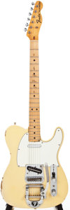 Musical Instruments:Electric Guitars, 1972 Fender Telecaster Cream Solid Body Electric Guitar,#364475....