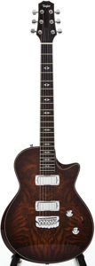 Musical Instruments:Electric Guitars, 2007 Taylor Mocha Solid Body Electric Guitar, #200712921....