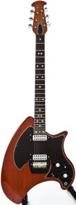 Musical Instruments:Electric Guitars, 1970s Ovation Deacon Natural Mahogany Solid Body Electric Guitar,#E 3840....