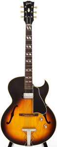 Musical Instruments:Electric Guitars, 1965 Gibson ES-175 Sunburst Semi-Hollow Body Electric Guitar, #269370....