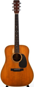 Musical Instruments:Acoustic Guitars, 1969 Martin D-28 Natural Acoustic Guitar, #243507....