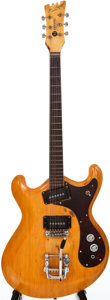 Musical Instruments:Electric Guitars, 1960s Mosrite Joe Maphis Natural Archtop Electric Guitar, #D003....