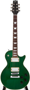 Musical Instruments:Electric Guitars, Modern Heritage H140 Green Solid Body Electric Guitar, #Q16504....