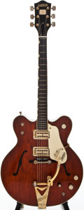 Musical Instruments:Electric Guitars, 1967 Gretsch Country Gentleman Walnut Semi-Hollow Body ElectricGuitar, #171156....