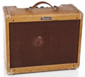 Musical Instruments:Amplifiers, PA, & Effects, 1957 Fender Deluxe Guitar Amplifier, #D00927....