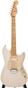 Musical Instruments:Electric Guitars, 1957 Fender Musicmaster Desert Sand Solid Body Electric Guitar,#-17156....