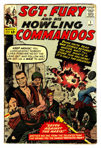 Sgt. Fury and His Howling Commandos #1 (Marvel, 1963) Condition: VG+