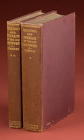 American Indian Art:Photographs, MISSIONS AND PUEBLOS OF THE SOUTHWEST. Vols. I and II. c. 1929...(Total: 2 Items)