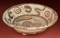 American Indian Art:Pottery, Mixtec Tripod Incense Offering Plate...
