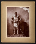 American Indian Art:Photographs, SEVEN NATIVE AMERICAN PORTRAITS AND GENRE SCENES . c. 1900...