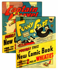 Wheaties (Premiums) Group (Walt Disney Productions, 1950) Condition: Average GD.... (Total: 2 Comic Books)