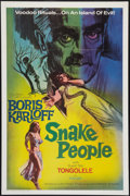 """Movie Posters:Horror, Snake People (Columbia, 1971). One Sheet (27"""" X 41""""). Horror.. ..."""