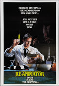 """Movie Posters:Horror, Re-Animator (Empire, 1985). One Sheet (28"""" X 41"""") Advance. Horror.. ..."""