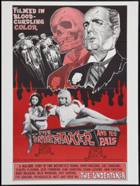 """The Undertaker and His Pals (Geneni, 1966). Poster (30"""" X 40""""). Horror"""