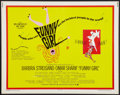 """Movie Posters:Musical, Funny Girl (Columbia, 1968). Half Sheet (22"""" X 28""""). Musical.. ..."""