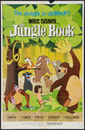 """Movie Posters:Animated, The Jungle Book (Buena Vista, 1967). One Sheet (27"""" X 41""""). Animated.. ..."""
