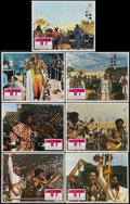 "Movie Posters:Black Films, Wattstax (Columbia, 1973). Lobby Cards (7) (11"" X 14""). Black Films.. ... (Total: 7 Items)"