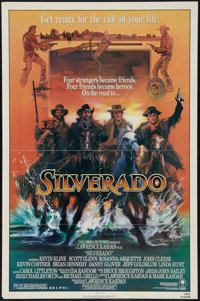 """Silverado And Other Lot (Columbia, 1985). One Sheets (2) (27"""" X 41""""). Western. ... (Total: 2 Items)"""