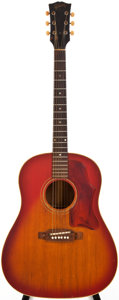 Musical Instruments:Acoustic Guitars, 1967 Gibson J-45ADJ Sunburst Acoustic Guitar, #064741....