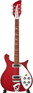 Musical Instruments:Electric Guitars, 1988 Rickenbacker 620 Ruby Metallic Solid Body Electric Guitar,#A19885....